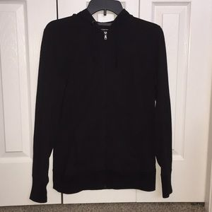 Tek Gear DryTek Black Zip Up Hoodie